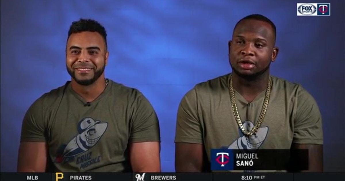 Twins sluggers Cruz and Sano on their baseball roots