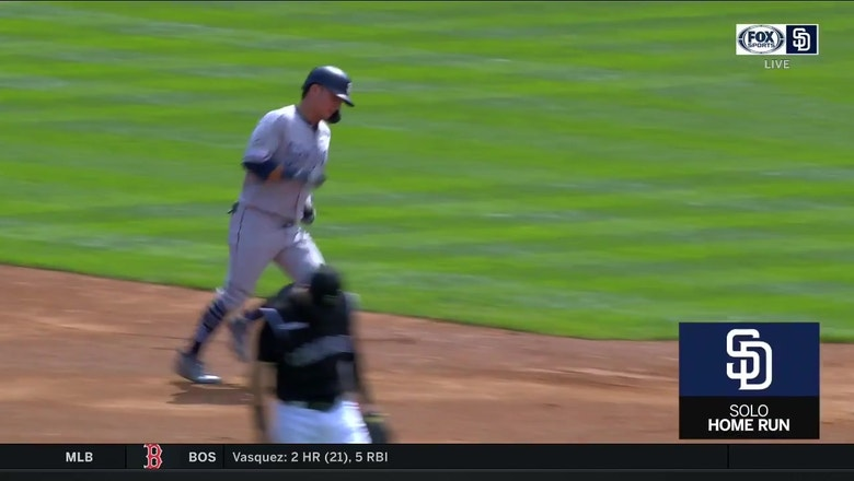 HIGHLIGHTS: Padres hit 3 homers in loss to Rockies