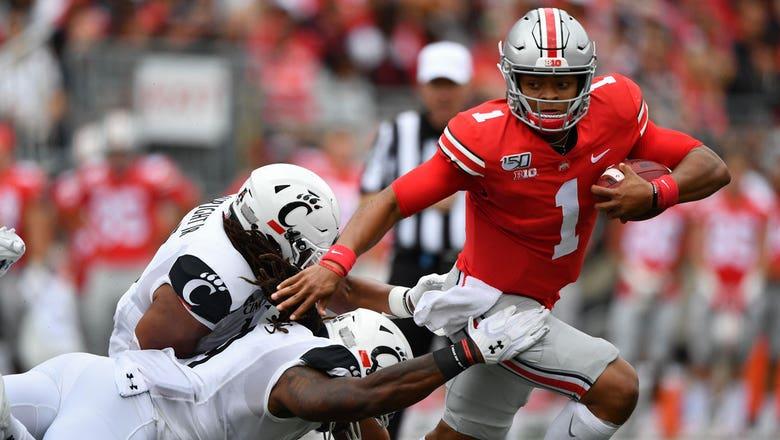 Justin Fields, J.K. Dobbins lead No. 5 Ohio State to blowout win over Cincinnati | 60 IN 60