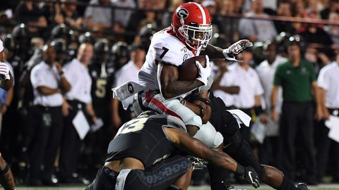ON THE RISE: D'Andre Swift, RB Georgia