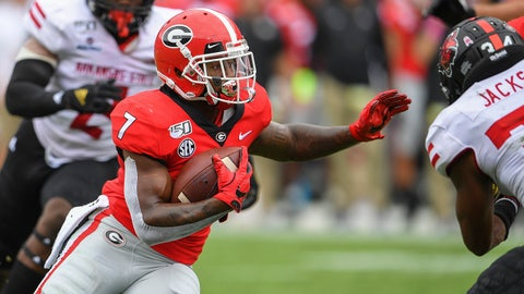 ON THE RISE: D'Andre Swift, Georgia RB