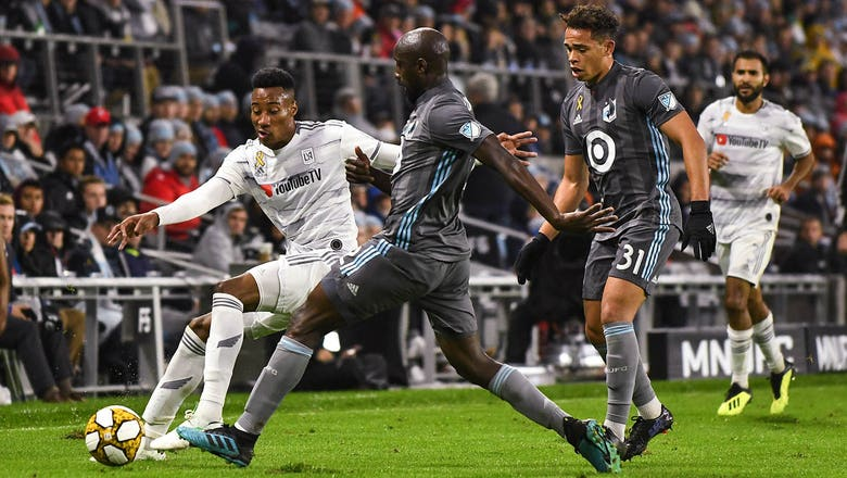 Minnesota United earns 1-1 draw with MLS-leading LAFC