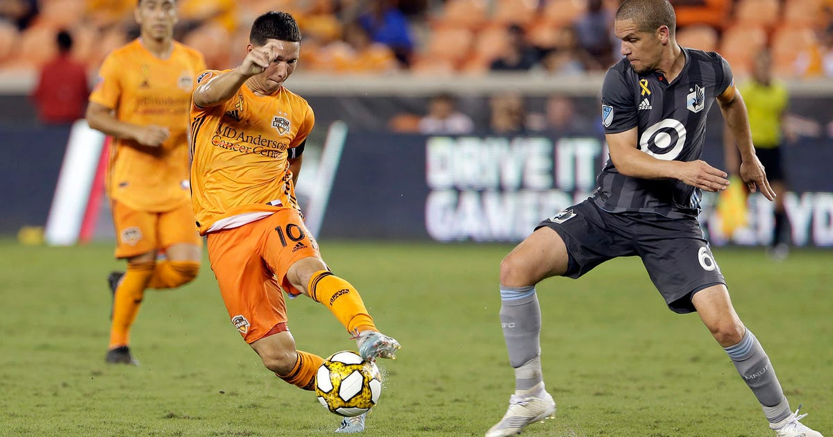 Late goal wiped off, Minnesota United FC loses 2-0 in Houston | FOX Sports