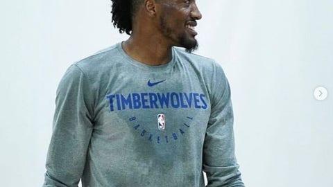 Robert Covington, Wolves forward