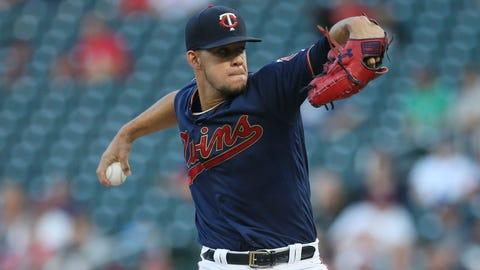 Jose Berrios, Twins pitcher (↑ UP)