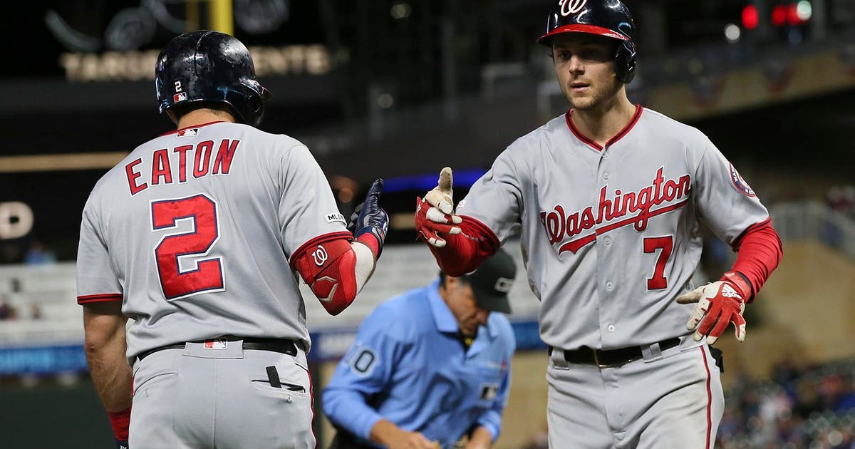 Nationals get to Perez early, hold on to beat Twins 6-2 | FOX Sports