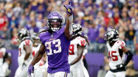 Dalvin Cook, Vikings running back (↑ UP)