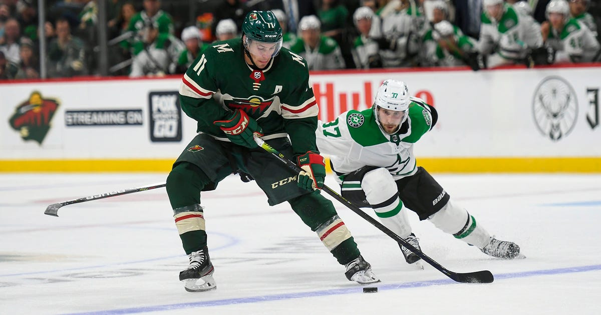 Dowling scores game-winner in overtime as Stars beat Wild 2-1   FOX Sports
