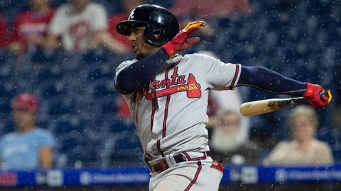 3. Ozzie Albies' strong second half has him chasing Atlanta history
