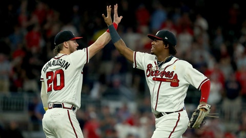 1. The Braves are finishing strong and beating playoff teams in head-to-head matchups