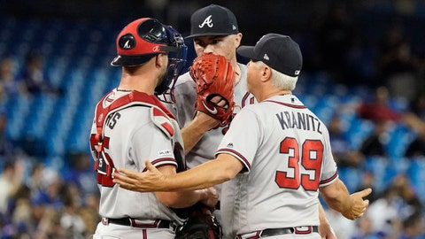 3. Are the Braves getting lackluster production from left-handed relievers?
