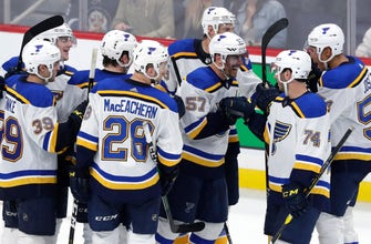 Perron scores tying and game-winning goals in Blues' overtime victory