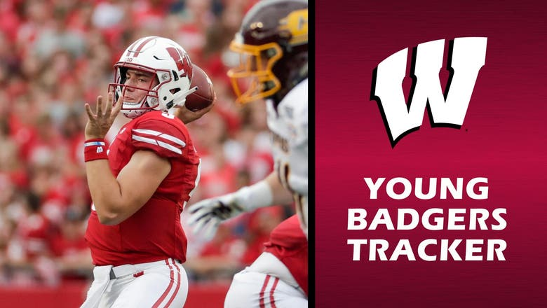 Badgers QB Mertz makes anticipated debut in unanticipated way