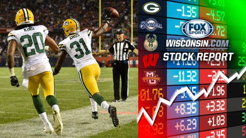 Adrian Amos, Packers safety (↑ UP)