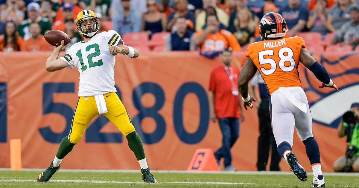 Preview: Green Bay Packers still wary of struggling Broncos pass rush