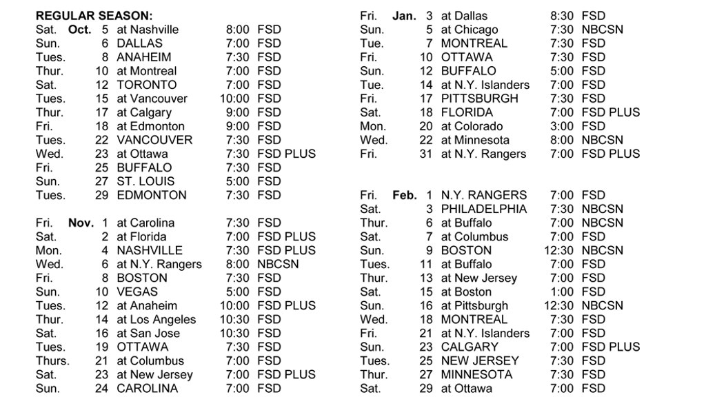 2019-20 Red Wings set to play on FOX Sports Detroit | FOX Sports