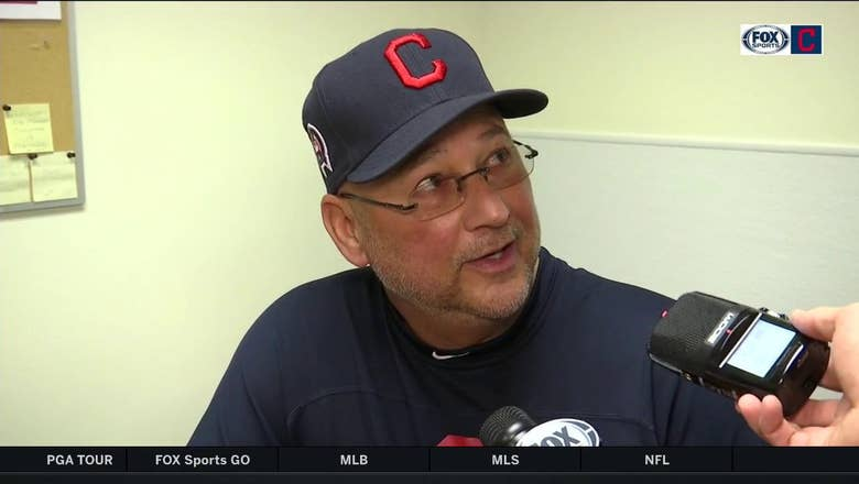 Terry Francona proud of how bullpen pieced save without Brad Hand