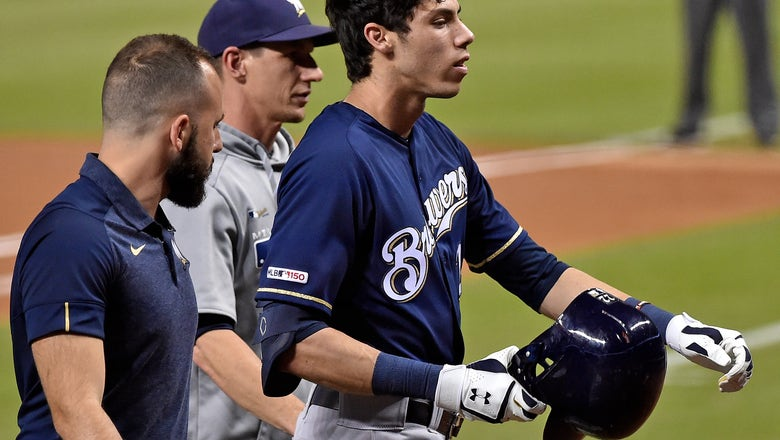 Brewers' Yelich opens up about season-ending knee injury