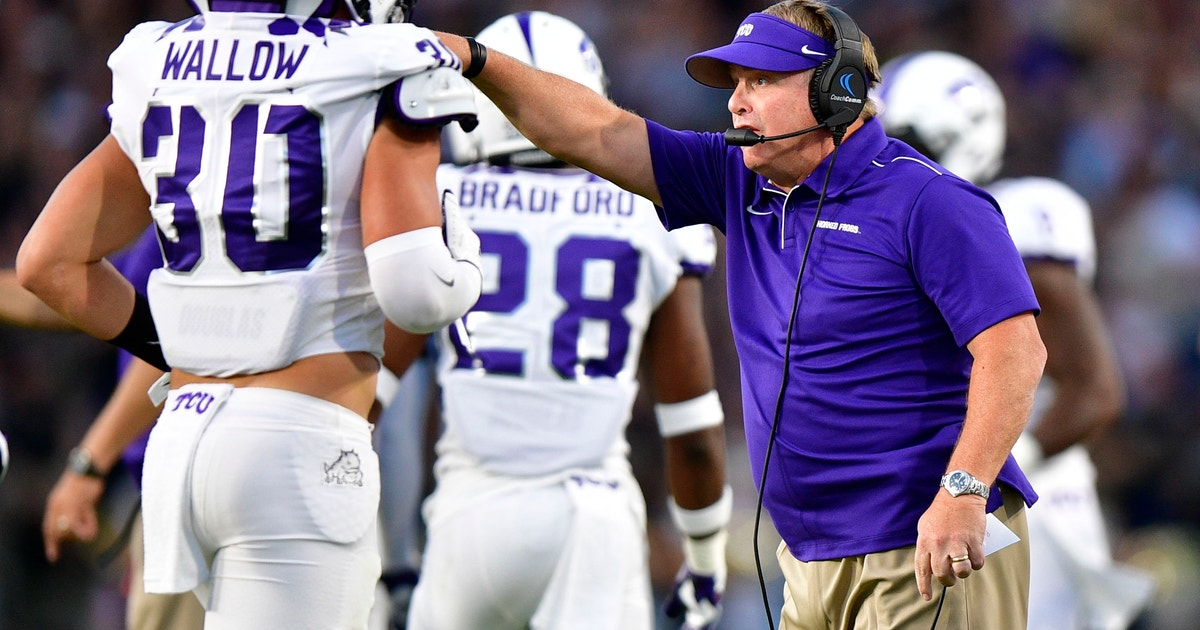 No. 25 TCU goes for 3-0, SMU there for 1st time in 35 years | FOX Sports