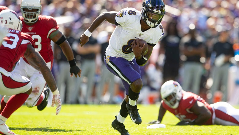 Lamar Jackson too much for Cardinals in battle of Heisman QB's