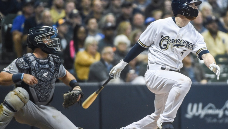 Spangenberg helps Brewers beat Padres 5-1