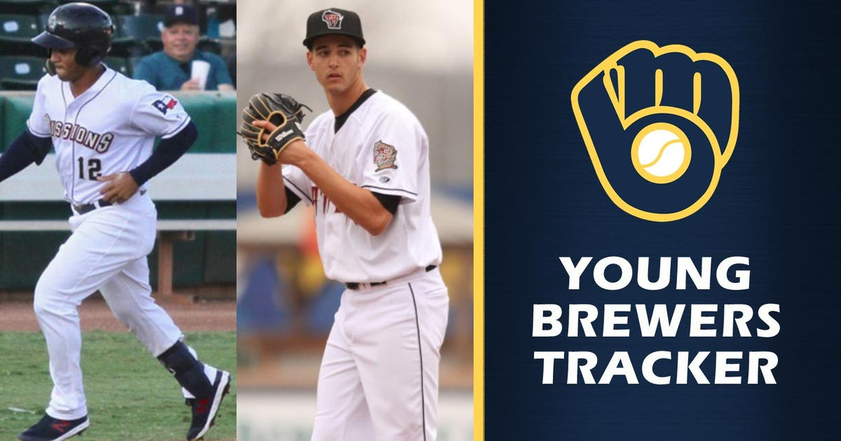 Grisham, Lazar standout performers among notable Brewers prospects