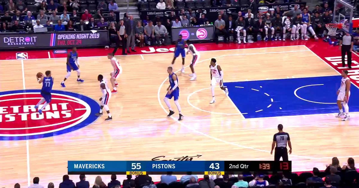 WATCH: Luka Doncic Goes Between the Legs and Up With a Floater