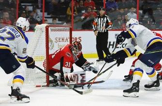 O'Reilly had 4-point game, Blues beat Senators 6-4