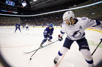 Kucherov finishes with 4 points, Lightning beat Leafs 7-3