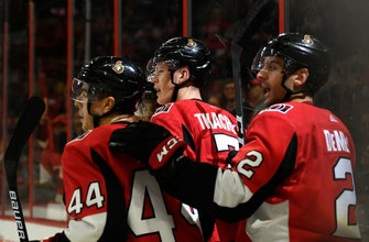 Nick Paul scores twice, Senators beat Sharks 5-2