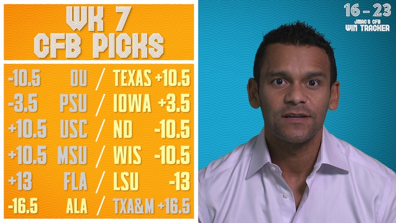 Week 7 college football picks against the spread, ranked in order of confidence | JASON MCINTYRE'S CFB PICKS