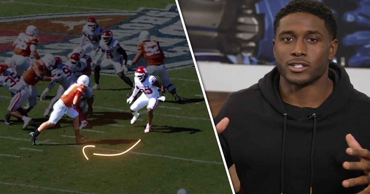 Roschon Johnson vs Oklahoma | Reggie Bush's Run of the Week