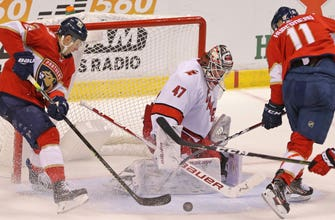 Early deficit insurmountable as Panthers fall to unbeaten Hurricanes