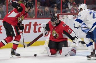 Lightning's top line held scoreless in 4-2 loss to Senators