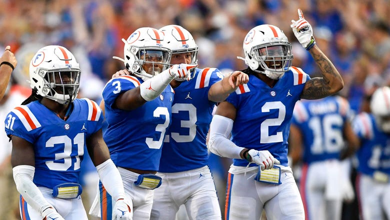 Ninth-ranked Florida gears up for decisive SEC stretch against South Carolina