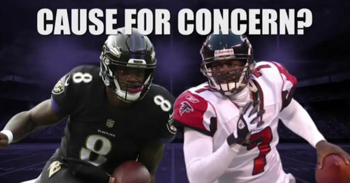 Jason Whitlock: Lamar Jackson breaking Michael Vick's QB rushing record won't be a good thing for the Ravens