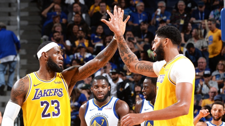 Nick Wright: 'Lakers ceiling is to be the best team in basketball'