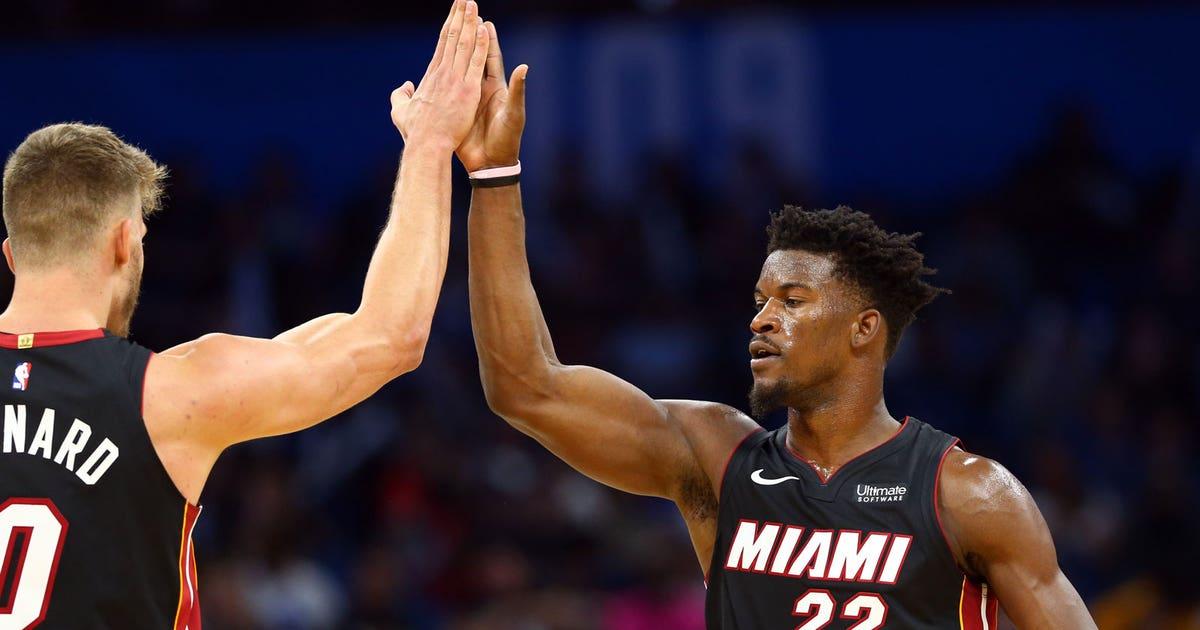 Jimmy Butler brings fresh look, sound to Heat | FOX Sports
