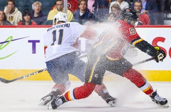 Panthers extend point streak to 7 games, but fall in shootout to Flames