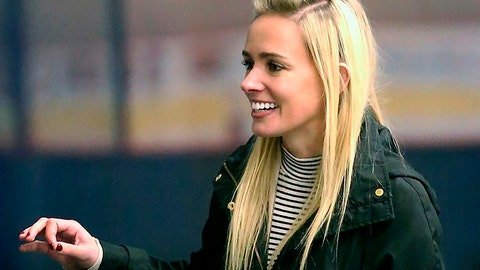 "<p>               This October 2018 photo provided by the NWHL shows National Women's Hockey League founder Dani Rylan at TRIA Rink in St. Paul, Minn. Dani Rylan has a blunt message for her detractors in preparing to open her fifth season. To those questioning the league's stability after several franchises lost their local NHL teams' backing, and some of the world's top players opted to sit out this year, Rylan is defiant by insisting there will be a sixth season next October, a seventh one after that, and so on. ""We're not going anywhere. We're just growing,"" she told The Associated Press in a wide-ranging interview last month. (Kirsten Burton/NWHL via AP)             </p>"