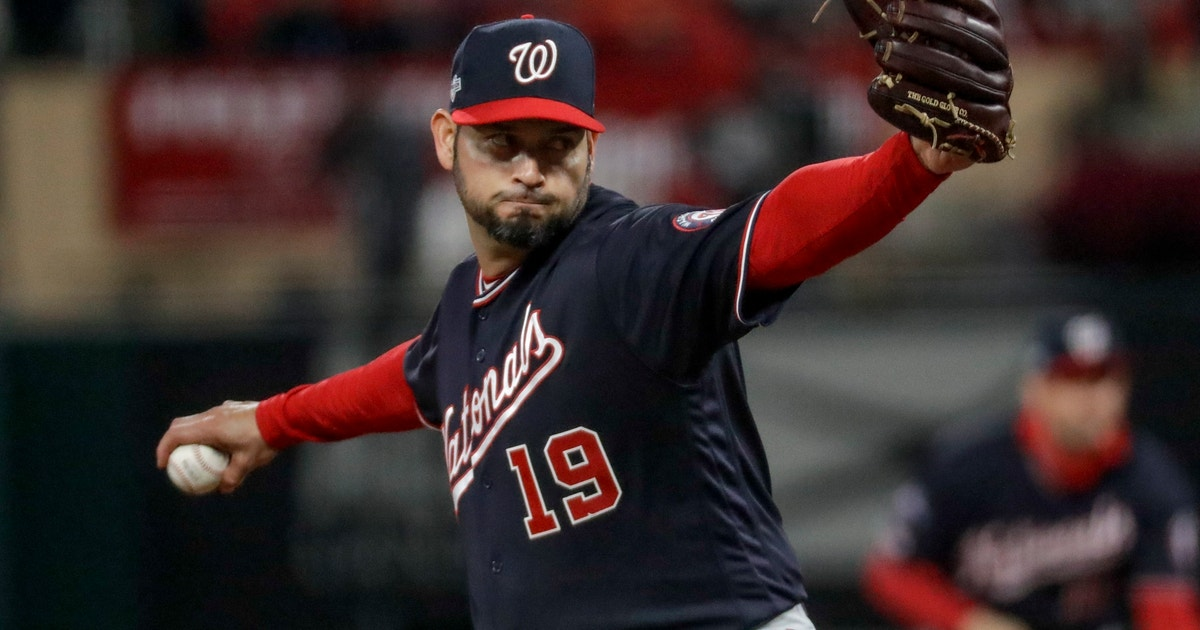 Nats' Aníbal Sánchez working on no-hitter in Game 1 of NLCS | FOX Sports
