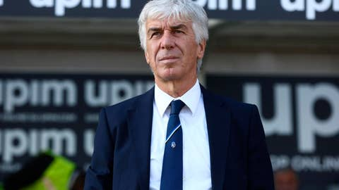<p>               Atalanta's head coach Gian Piero Gasperini looks on during the Italian Serie A soccer match between Atalanta and Udinese at the Atleti Azzurri d'Italia stadium in Bergamo, Italy, Sunday, Oct. 27, 2019. (Paolo Magni/ANSA via AP)             </p>