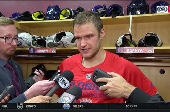 """Aleksander Barkov says """"eliminating mistakes"""" was key to Panthers securing win"""