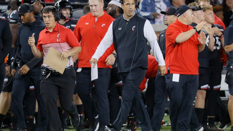 No. 25 Cincinnati tries to build off big win at Houston