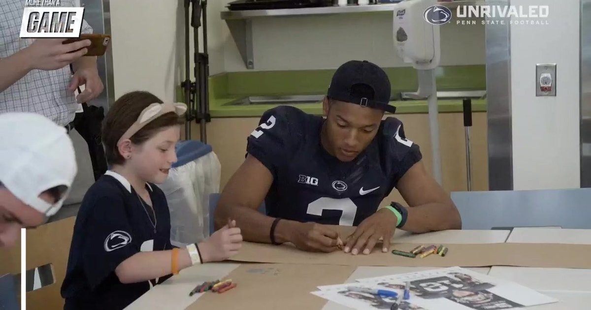 | More Than A Game: Penn State football making a difference
