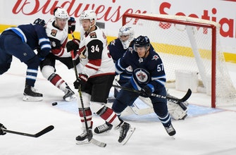 Coyotes beat Jets 4-2, get first win in Winnipeg
