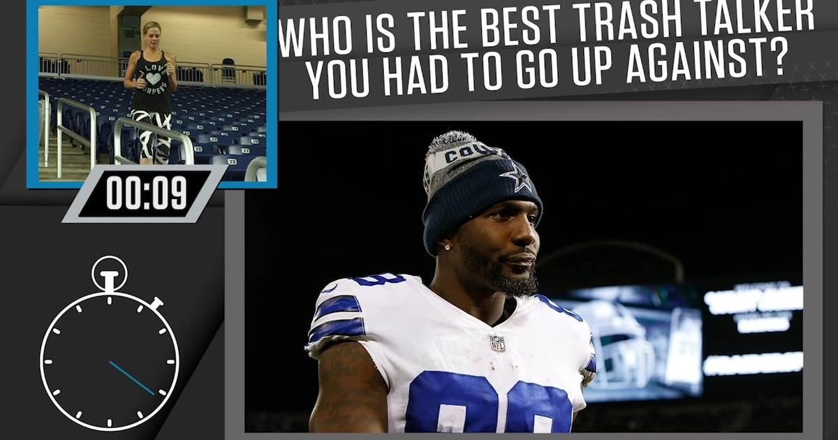 Darius Slay names Dez Bryant the best trash-talker he's ever gone up against | 1 UP 1 DOWN