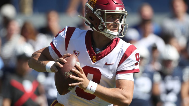 USC faces 3rd straight ranked foe taking on No. 9 Notre Dame