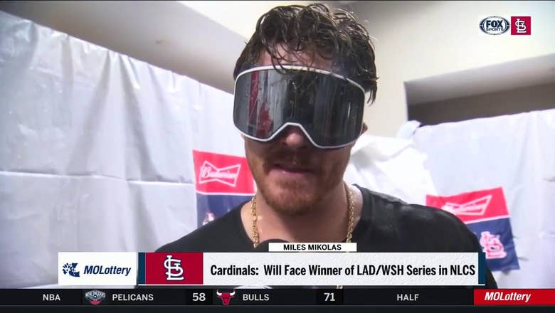 Mikolas: 'I think we're going to start the next series on a high note'