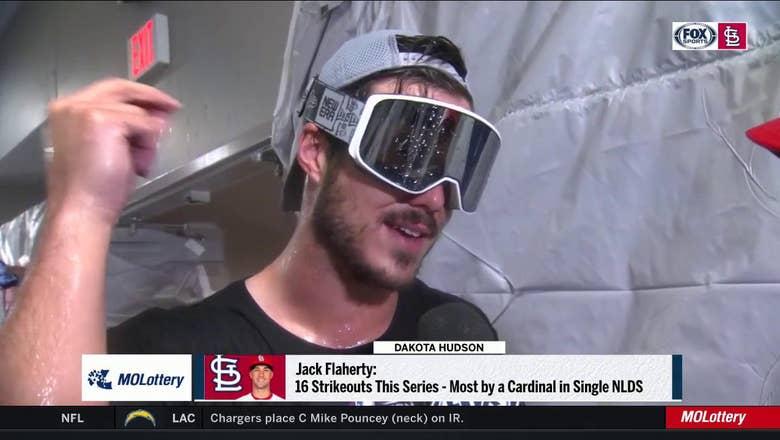 Dakota Hudson on Jack Flaherty: 'He was just fun to watch' in Game 5